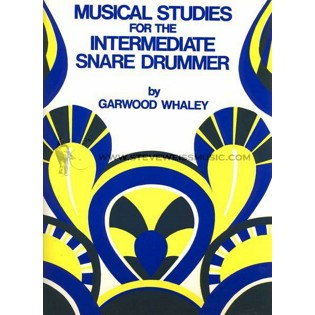 whaley-musical studies for the intermediate snare drummer