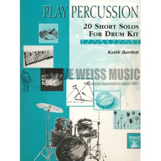 bartlett-20 short solos for drum kit