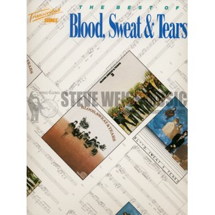 blood, sweat and tears-the best of (transcribed score w/drum s)