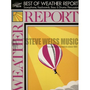 weather report-the best of (transcribed score w/drum s)