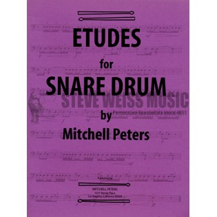 peters-etudes for snare drum