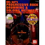 leytham-progressive rock drumming & soloing methods (cd)