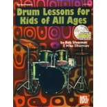 silverman-drum lessons for kids of all ages (cd)