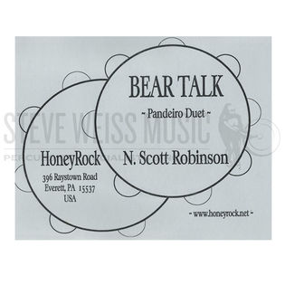 robinson-bear talk (sp)-2 pandeiros (cd)