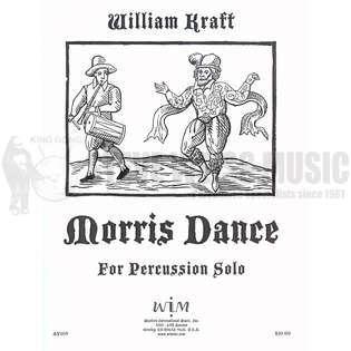 Kraft-Morris Dance-P | Unaccomp  Solo | Multi Percussion