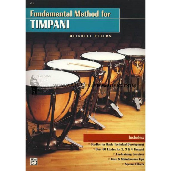 Fundamental method for timpani by mitchell peters wind for Yamaha music school los angeles