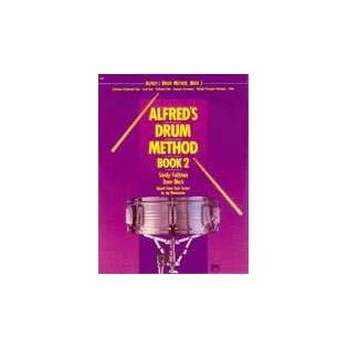 feldstein/black-alfred's drum method book 2 (book only)