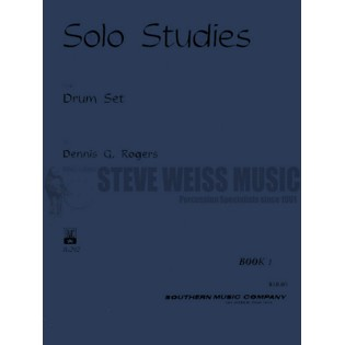 rogers-solo studies for drum set book 1