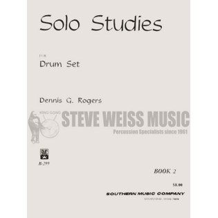 rogers-solo studies for drum set book 2