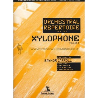 carroll-orchestral repertoire for the xylophone vol. 1