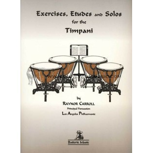 carroll-exercises, etudes and solos for the timpani
