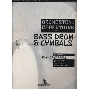 carroll-orchestral repertoire for bass drum & cymbals