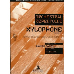 carroll-orchestral repertoire for the xylophone vol. 2