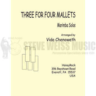 chenoweth-three for four mallets