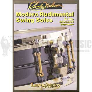 wilcoxon-modern rudimental swing solos for the advanced drummer