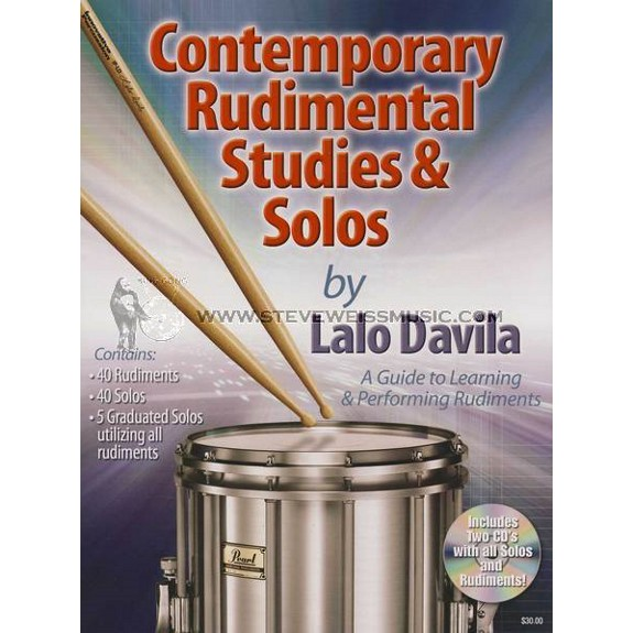 Davila Contemporary Rudimental Studies And Solos W 2CD