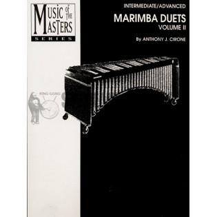 Cirone-Marimba Duets vol  2-Intermediate/Advanced   Duet