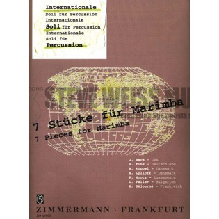 various-internationale soli fur percussion: 7 stucke for marimba