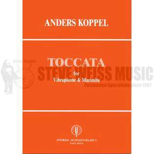 koppel-toccata for marimba & vibraphone-duet version (s-n2)-v/m