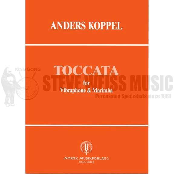Koppel-Toccata for Marimba & Vibraphone-DUET VERSION (S-n2)-V/M