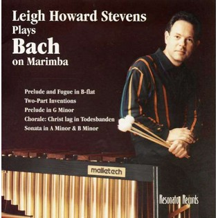 stevens-bach on marimba (cd)