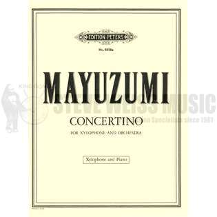 mayuzumi-concertino for xylophone-x/pn red.