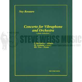 rosauro-concerto for vibraphone and orchestra (sp)-v/pn