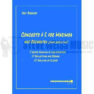 rosauro-concerto #2 for marimba & orchestra (pn red.)-m/pn