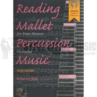 kite-reading mallet percussion music (w/mp3 cd)