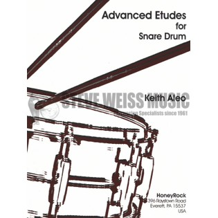aleo-advanced etudes for snare drum