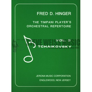 hinger-timpani player's orchestral repertoire vol. iii-tchaikovsky