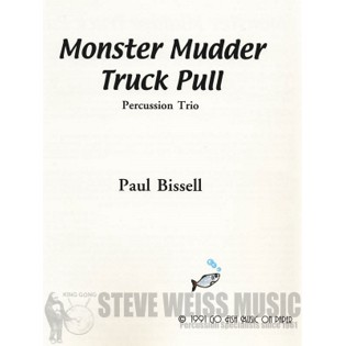 bissell-monster mudder truck pull (sp)-p