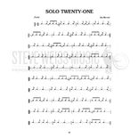 Maroni-50 Syncopated Solos for Snare Drum Alternate Picture