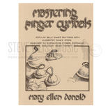 donald-mastering finger cymbals (book only)