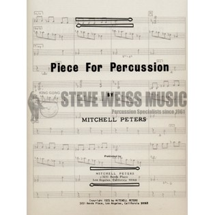 peters-piece for percussion (sp)-p/x/b/3t