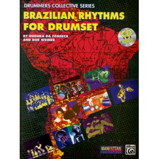 da fonseca/weiner-brazilian rhythms for drumset (cd)