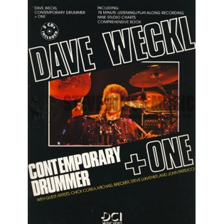 weckl-contemporary drummer + one (w/cd)