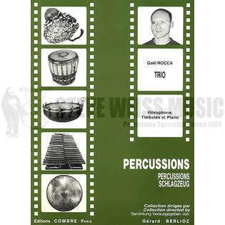 Trio by Gael Rocca | Percussion Ensemble Music | Sheet Music | Steve