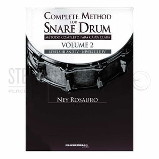 rosauro, ney-complete method for snare drum vol. 2