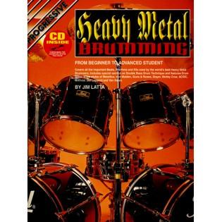 latta jim heavy metal drumming cd drum set method books with recording drum set steve. Black Bedroom Furniture Sets. Home Design Ideas