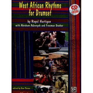Hartigan-West African Rhythms for Drumset (CD)   Drum Set