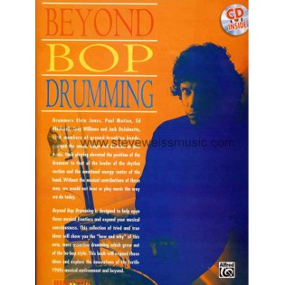 riley-beyond bop drumming (w/cd)