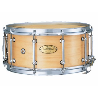 pearl concert series snare drum - maple 14x6.5