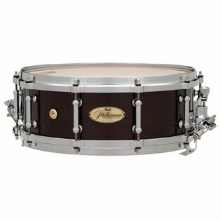 pearl philharmonic concert snare drum - solid shell maple