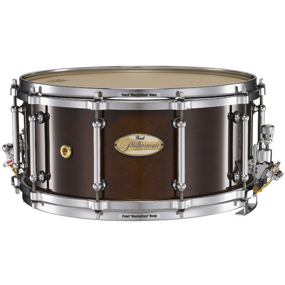 pearl phm1465 solid shell philharmonic snare drum pearl snare drums concert snare drums. Black Bedroom Furniture Sets. Home Design Ideas