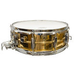 ludwig bronze super sensitive snare drum (lb554) - 14x5