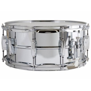 ludwig chrome supraphonic snare drum - 14x6.5