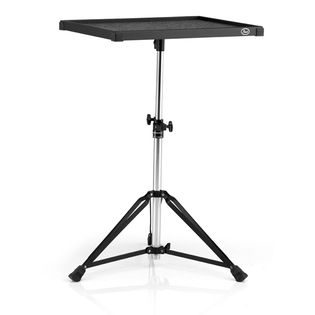pearl trap table with double braced stand (ptt1824w) - 18x24