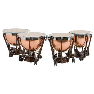 adams professional generation ii hammered copper timpani