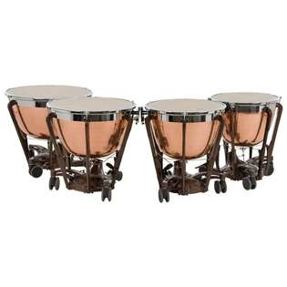 adams professional generation ii hammered cambered copper timpani
